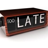 Encore en retard ? Stop à la procrastination !