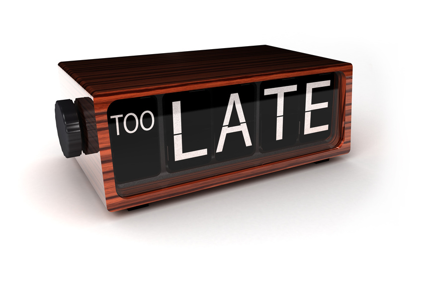 démarrage tardif