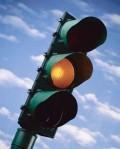 traffic light orange