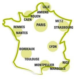 sites CSP en France