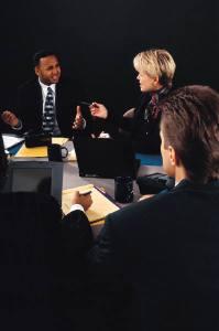 réunion de travail