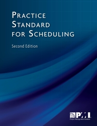 PMI Standard for Scheduling