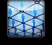 network of people, réseau de personnes