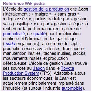 wikipedia lean