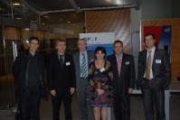 Bruno Laude et le comité de pilotage du PMI Pôle des Pays de Savoie