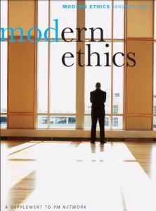 pmi modern ethics