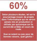 60% arrêts