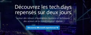 tech.days Microsoft