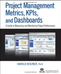 Kerzner book on kpis and dashboards