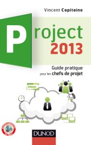 couverture livre MS Project 2013 Vincent Capitaine