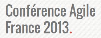 conf agile france 2013