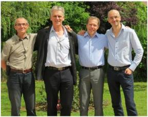 Yves Martineu, Alain Bernard, Pascal Marion, Jean Christophe Pautrat