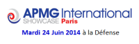 APMG International Showcase Paris - 2014