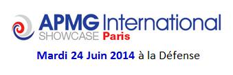 APMG International Showcase Paris - 2014