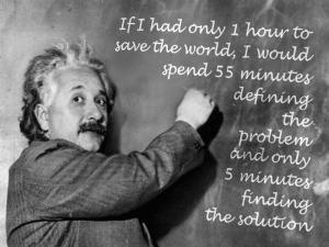 einstein problem solving