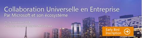 colaboration Universelle en Entreprise inscription