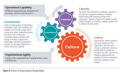 drivers of organizational change agility