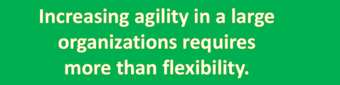 increasing agility