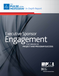 PMI Exec sponsor engagement