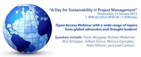 2015 Sustainability PM Day