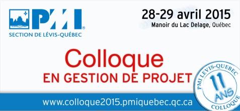 Quebec PMI-Colloque-2015