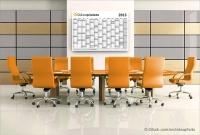 calendrier mural onlineprinters