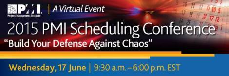 2015 Scheduling Virtual conf