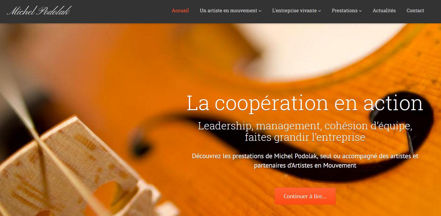 « L'orchestre entreprise » : visitez le nouveau site de Michel Podolak ! – DantotsuPM.com