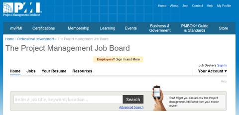 PMI Job Board