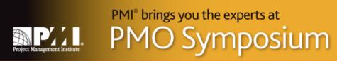 PMO Symposium 2015 banner