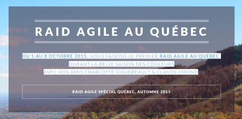 raid agile quebec 2015