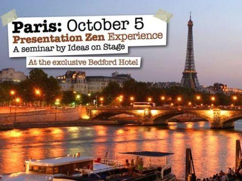 pres zen 2015 Paris