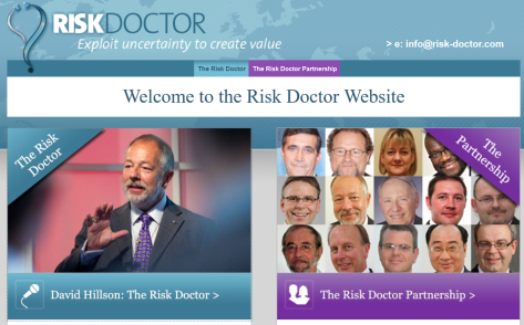 Visit the new Risk Doctor Web Site
