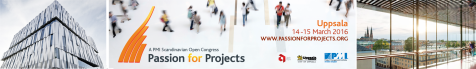 Sweden Passion for Projects 2016