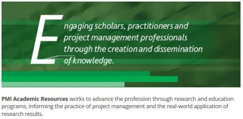 Visit the PMI Academic Resources web pages
