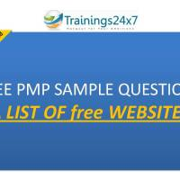 liste de sites proposant gratuitement des exemples questions du #PMP (par Trainings 24x7)