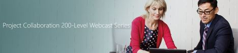 MS Project Collaboration webcast series