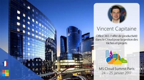 Vincent Capitaine, expert de MS Project animera plusieurs sessions à ne pas manquer !