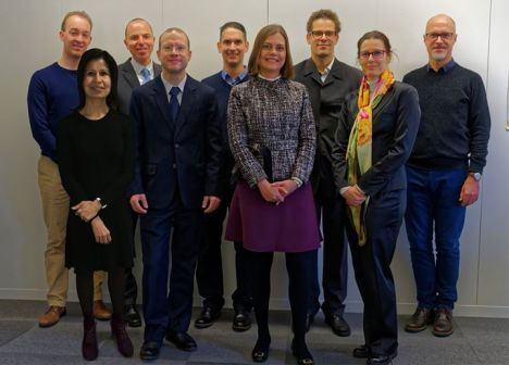The official PMI Switzerland Board of Directors 2017 photo