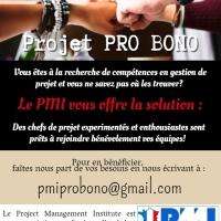 Le PMI® France, fort de ses 5000 chefs de projets expérimentés, ouvre ce réseau de compétences aux associations !