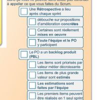 une check-list simple et concrète pour vérifier si nous faisons vraiment du Scrum ou nous y préparer et améliorer