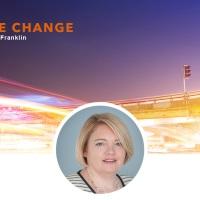 Leçons apprises sur le management du changement par Melanie Franklin